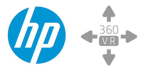HP VR Logo