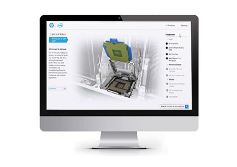 Logo - HP 3D Sales Tool