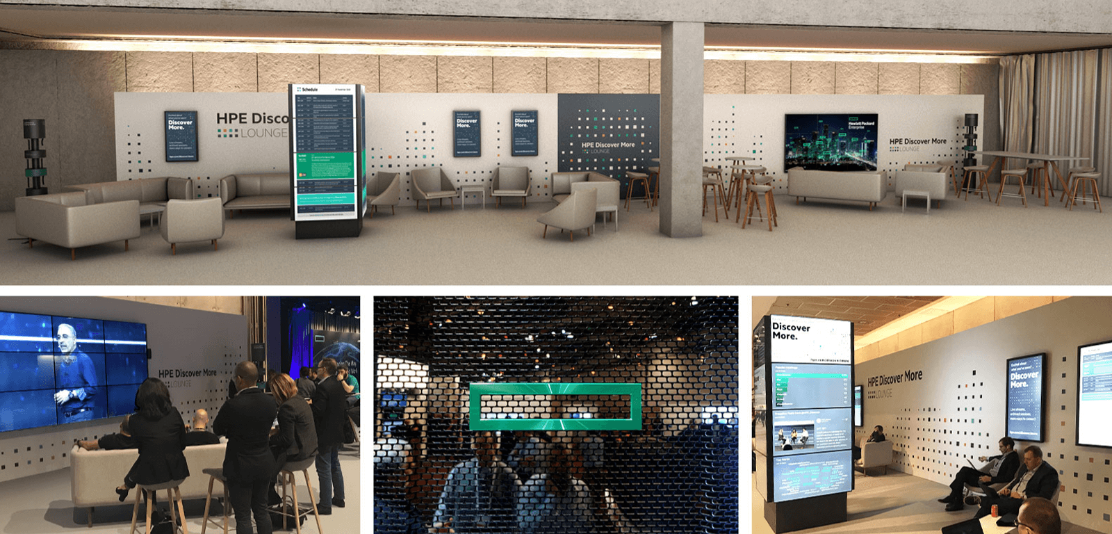 HPE Lounge collage of photos