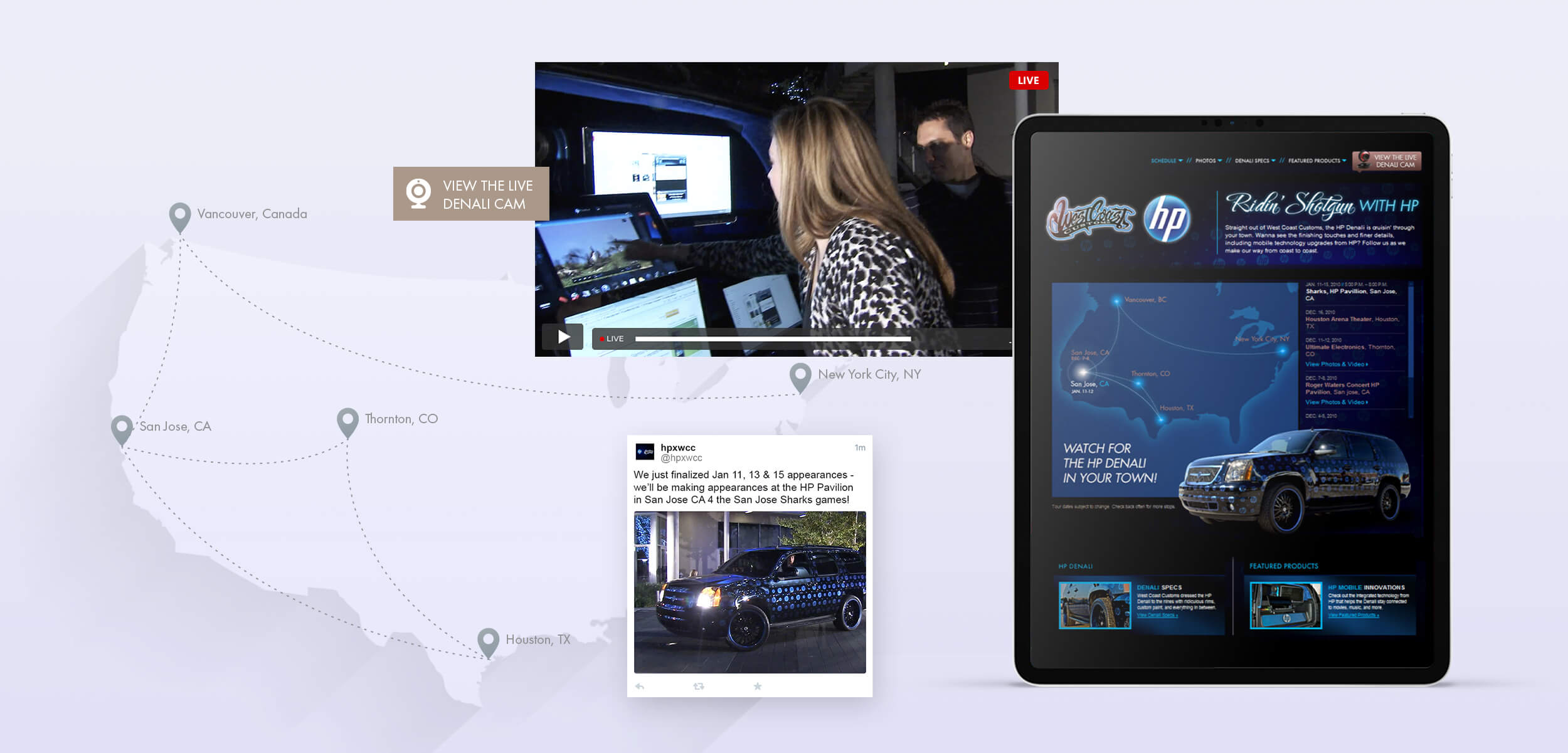 HP Envy Launch Mobile Roadshow