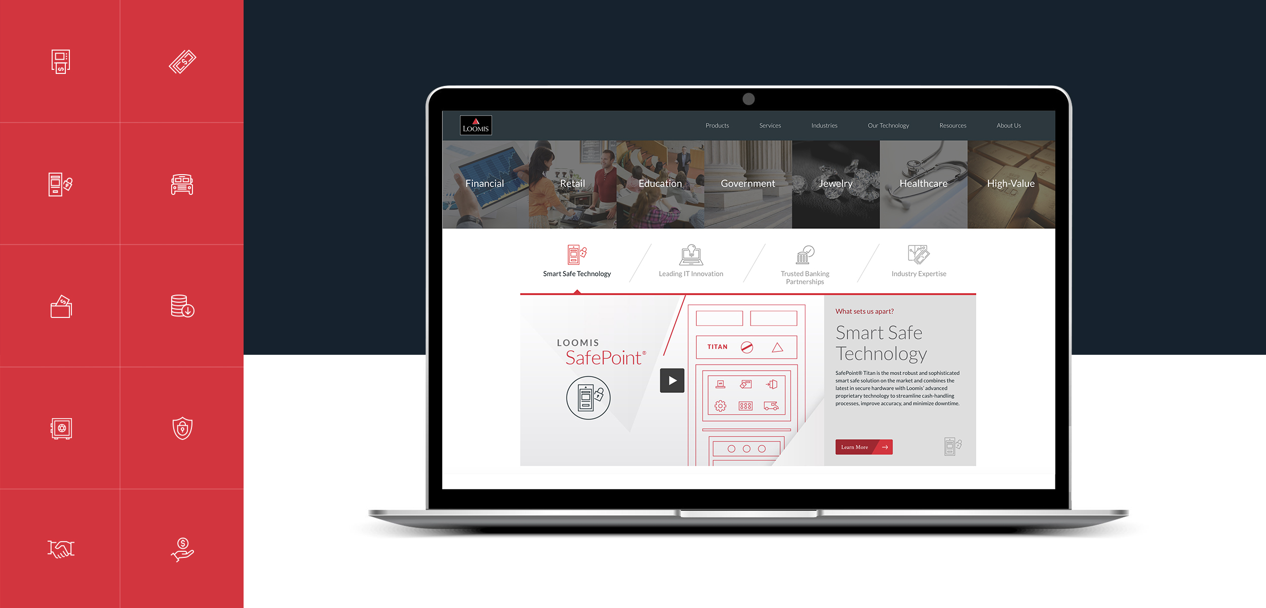 Loomis's next generation website design