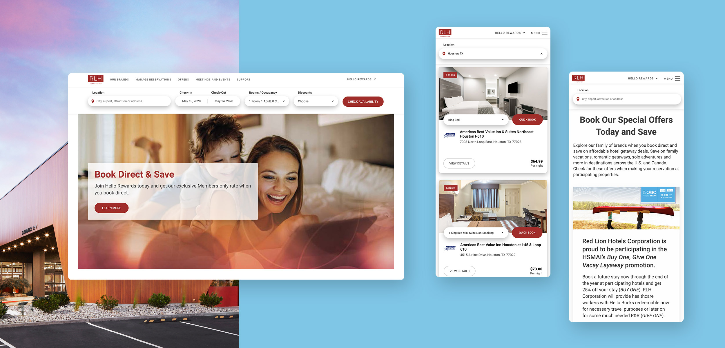 Redlion.com enterprise website