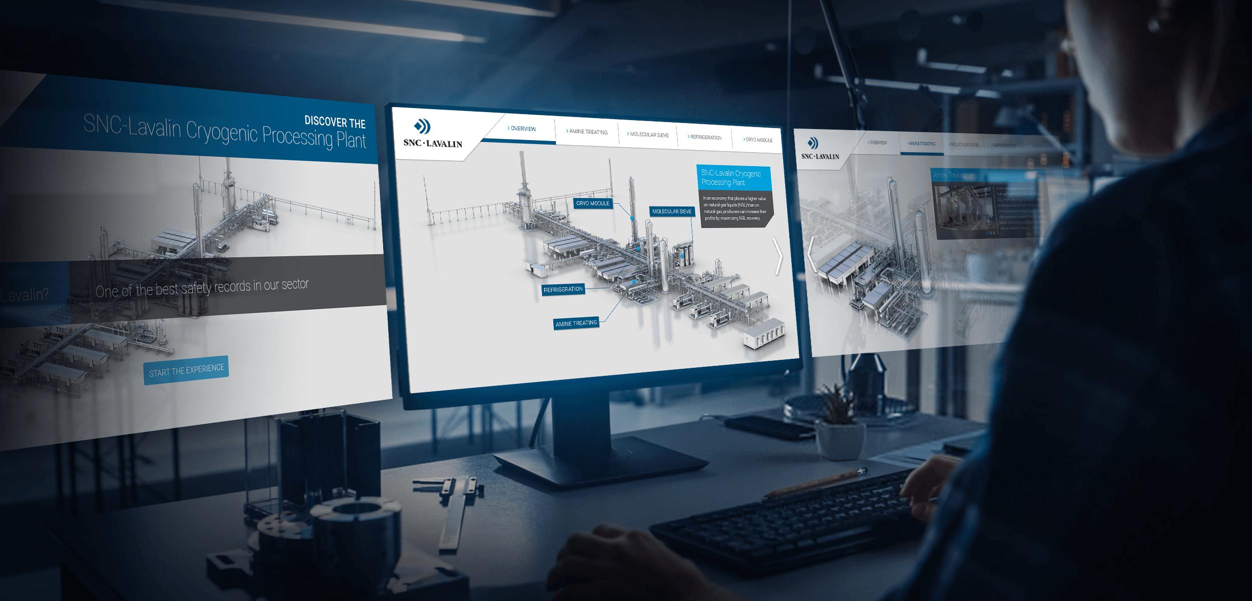 SNC Lavalin Cryogenic Plant Virtual Tour